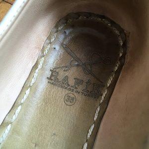 Rafiks Shoes - Rafiks White Turkish Leather Slippers